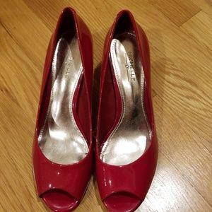 Michelle D Patent Leather Heels